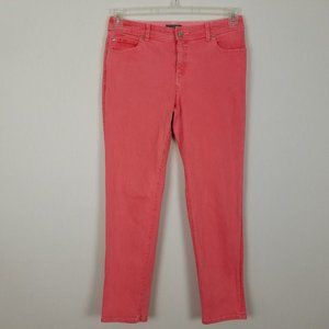 So Slimming by Chico's salmon jeans sz 1.5 sz 10